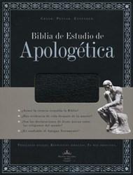 Biblia RvR 60 Estudio Apologetica Simil Piel Negro C/Ind.