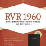 Biblia Letra Grande Tamaño Manual, RVR 1960
