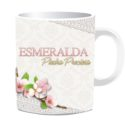 Taza Esmeralda Piedra Preciosa