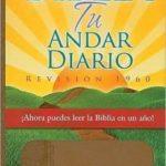 Biblia Tu Andar Diario RVR 1960, Piel Especial, Marrón