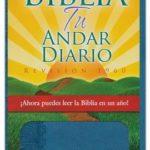 Biblia Tu Andar Diario RVR 1960, Piel Especial, Azul