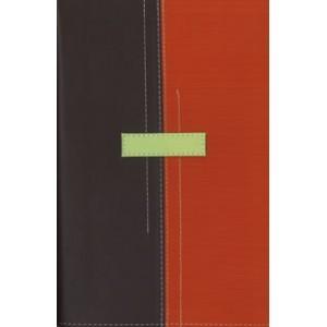 Biblia Thompson, Reina-Valera 1960, tamaño personal, piel italiana, (Color : marrón / naranja)