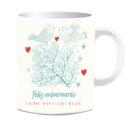 Taza Feliz Aniversario Nuestro Amor Es Para Siempre