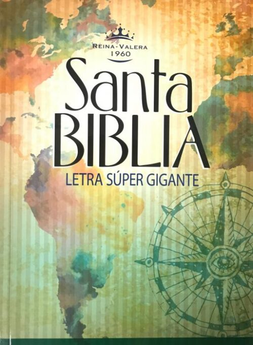 Biblia rvr60 letra super Gigante – Tapa Rustica