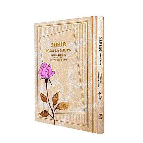 Sidur (Libro de oraciones) Hebreo/Español Mujer