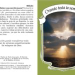 Folletos Dípticos para Evangelismo, Guardado