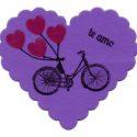 imán Corazón Bicicleta
