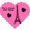 imán Corazón Torre Eiffel