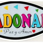 Pegatina Adonai