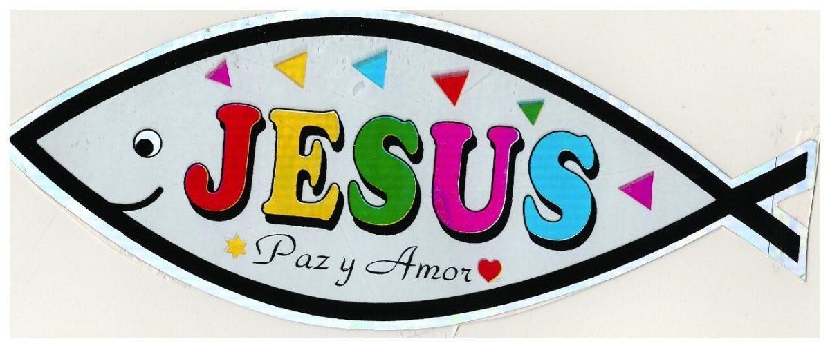 Pegatina Jesús