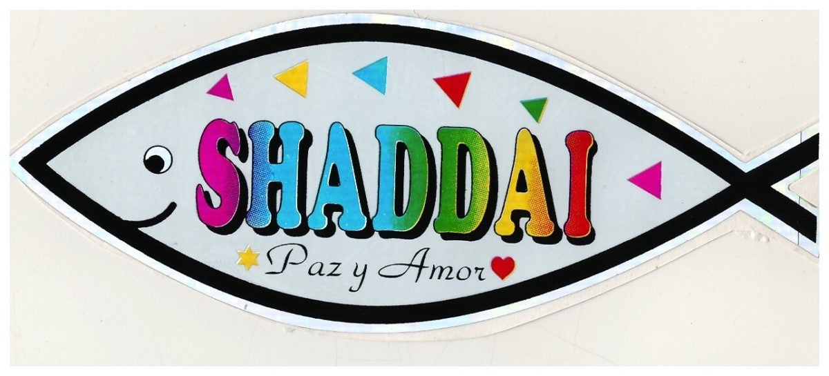 Pegatina Shaddai