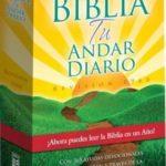 Biblia Tu Andar Diario RVR 1960, Tapa Rústica – precio Liquidación