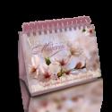 Nuestro Pan Diario, edición de escritorio Mujer Flor Blanca