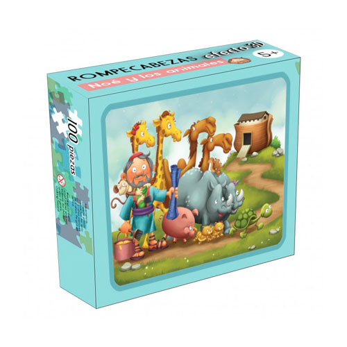 puzzle noe y los animales