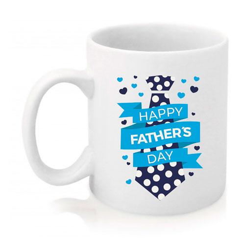 Taza Happy Father's Day Blue Corbata
