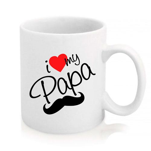 Taza I Love My Papa