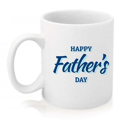 Taza Happy Father's Day azul