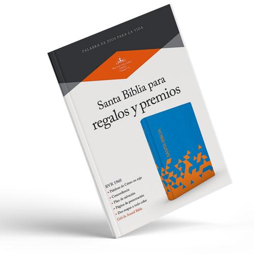 Biblia Reina Valera Naranja y Azul