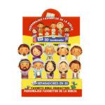 Separadores en 3D personajes de la Biblia(Bilingüe)