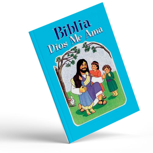 Biblia Dios me Ama Azul
