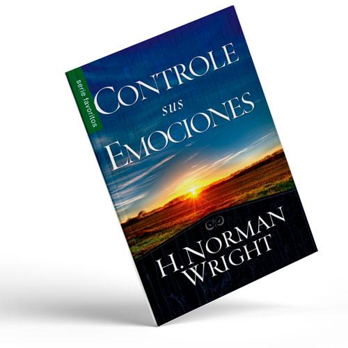 Libro Controle su emociones, tamaño bolsillo
