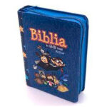 Biblia mi gran viaje Rvr 1960 color Azul