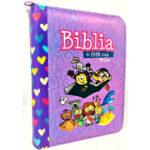 Biblia mi gran viaje Rvr 1960 color Morado