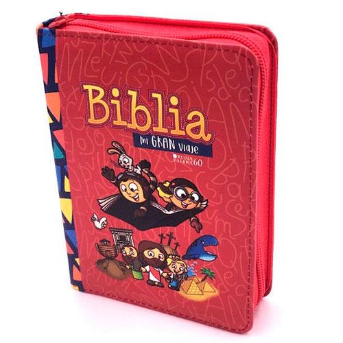 Biblia mi gran viaje rojo