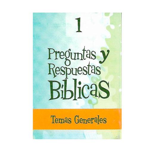 Juego de Preguntas y Respuestas bíblicas bilingüe.